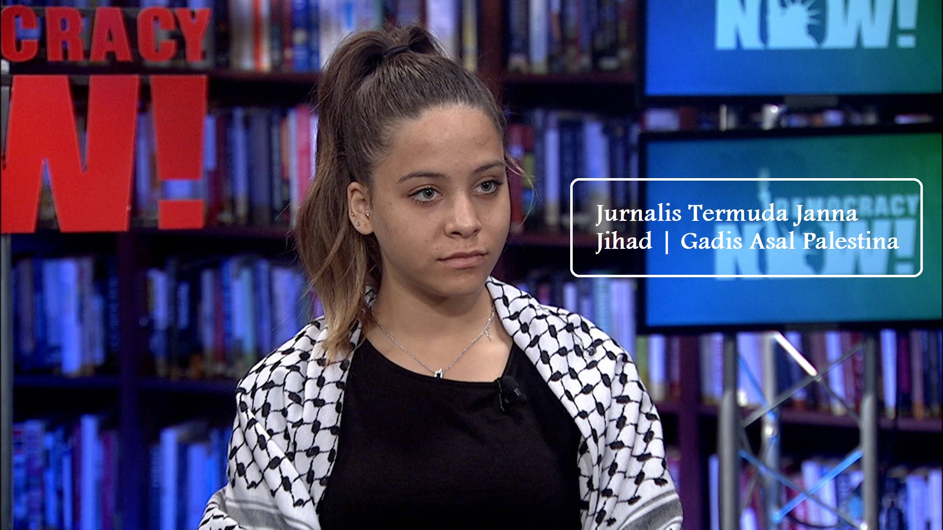 Jurnalis Termuda Janna Jihad | Gadis Asal Palestina